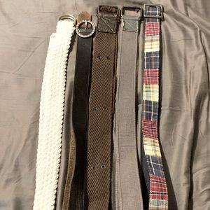 Women's belt lot